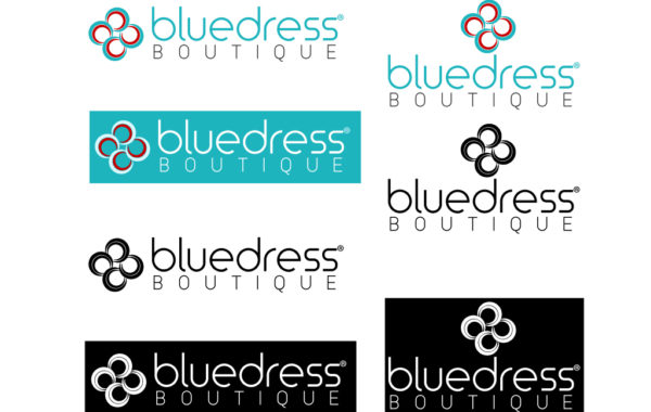 Blue Dress Boutique – Branding