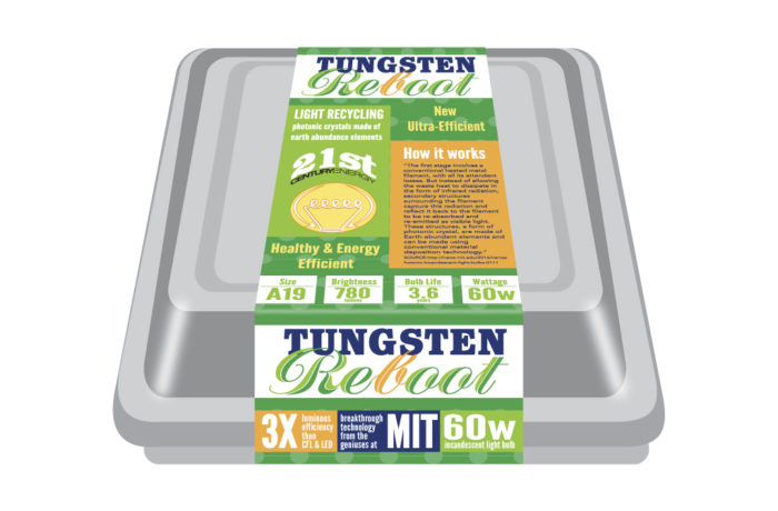 Tungsten Reboot – Packaging